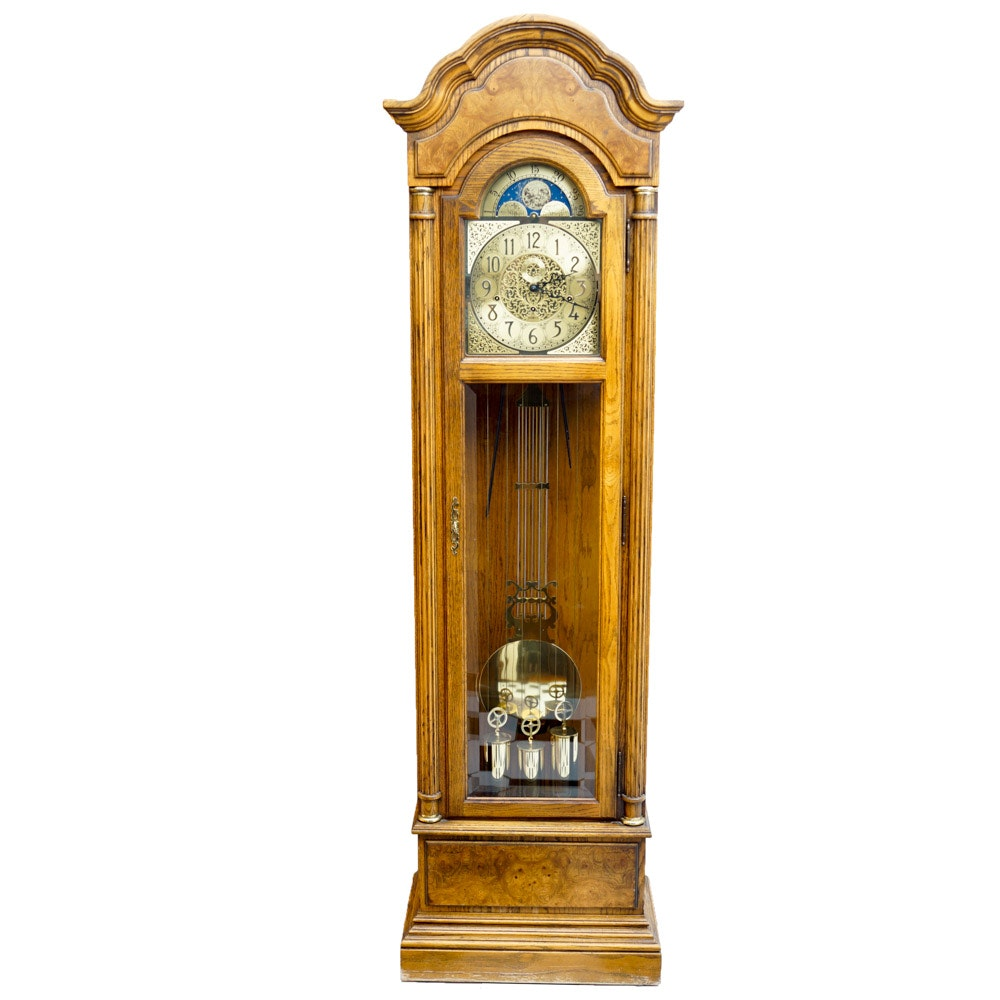 Vintage Howard Miller Clock Company Grandfather Clock : EBTH