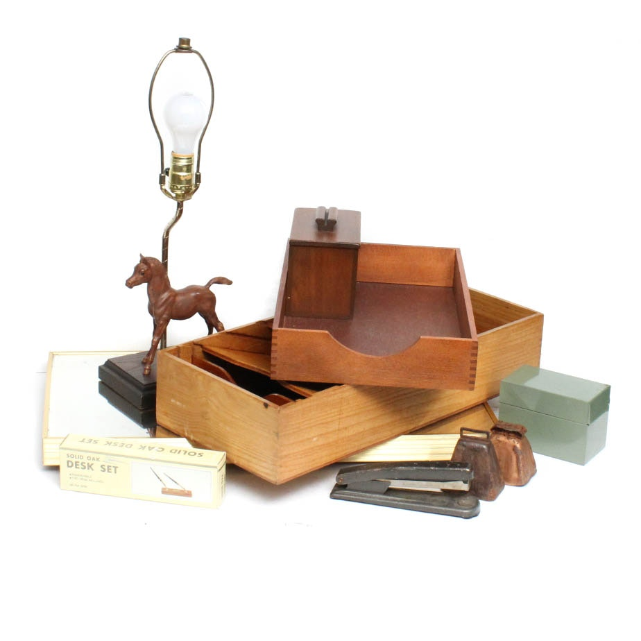 Charmant Vintage Office Accessories ...