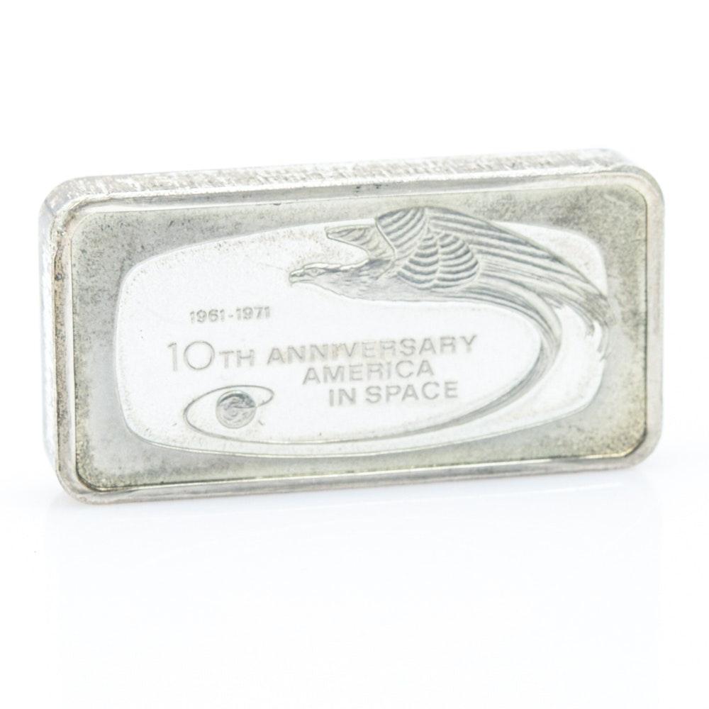 1000 Grain Sterling Silver Commemorative Bar