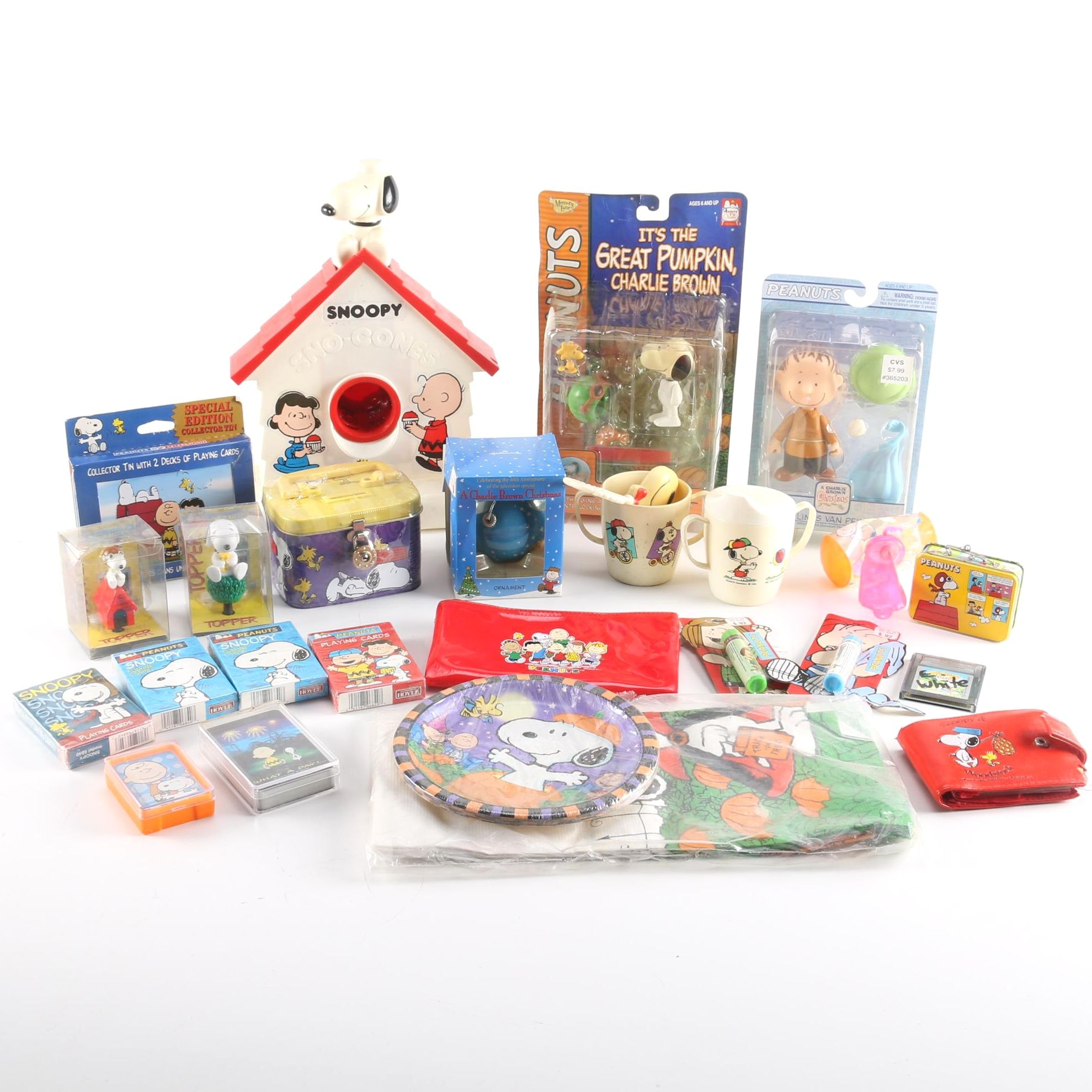 Collection of Peanuts Items