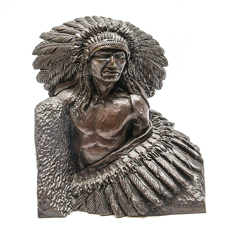 """Sid Burns 1977 Bronze Sculpture """"Pride of Race"""""""