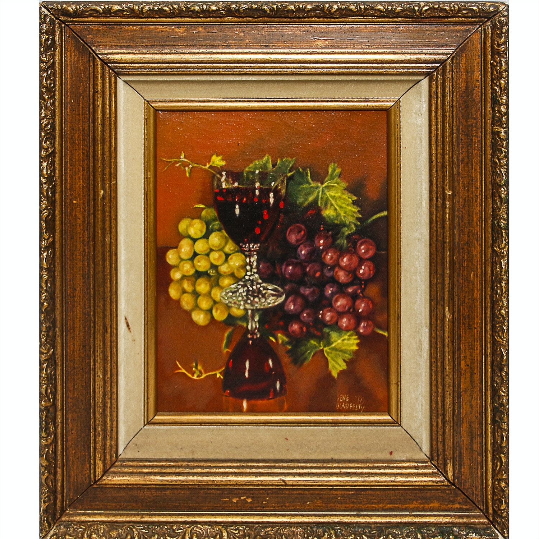 Gene Gladfelty Original Oil Still Life
