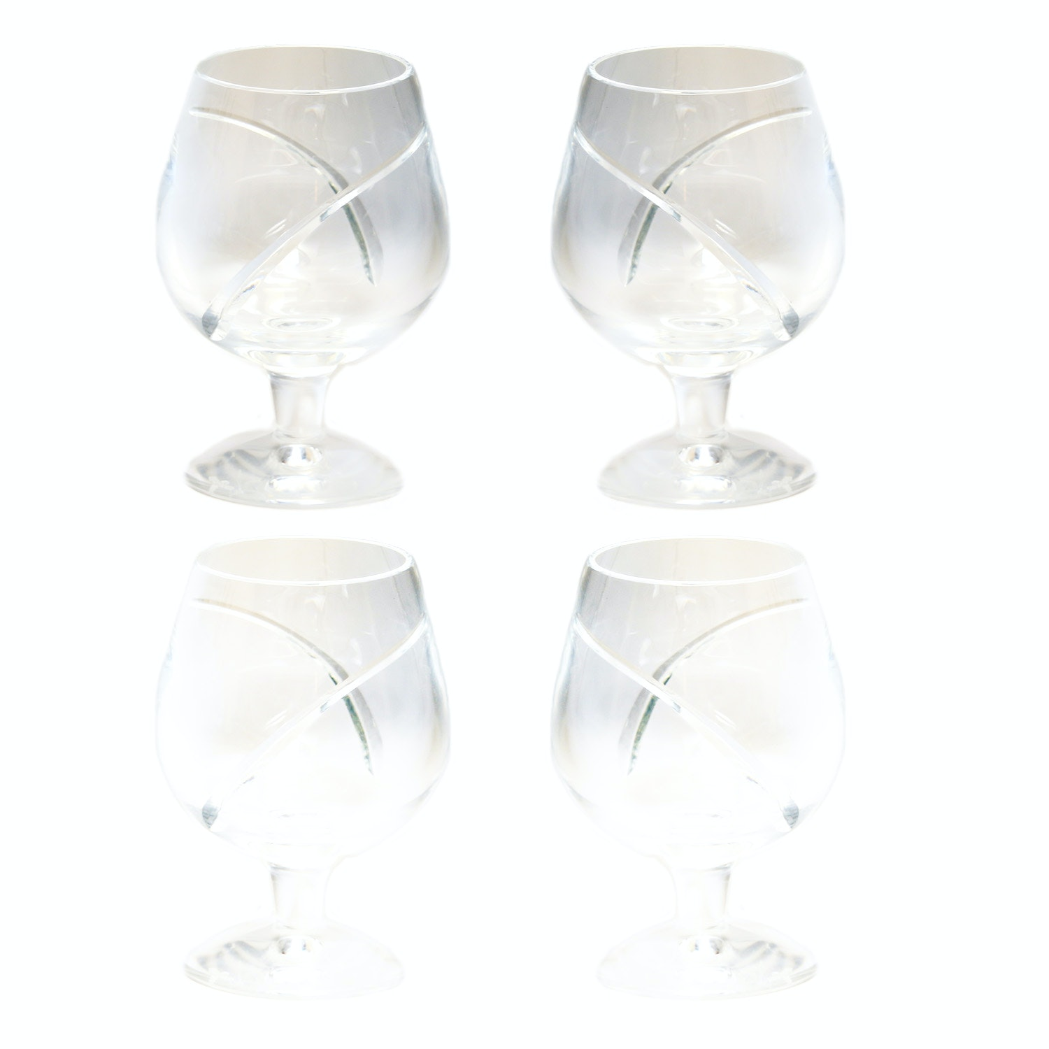 "Waterford Crystal ""Siren"" Brandy Snifters"