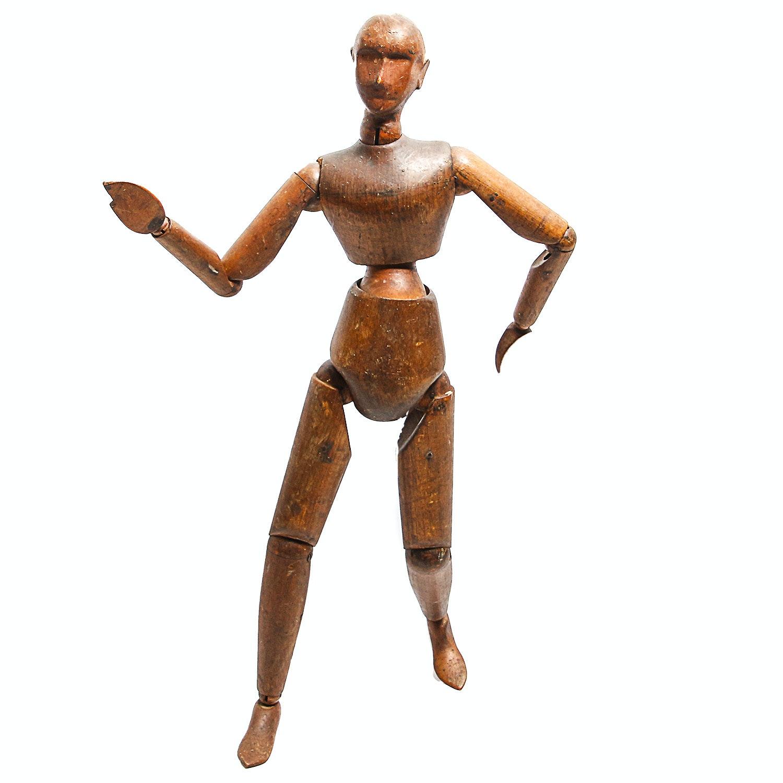 Wooden Artist's Lay Figure