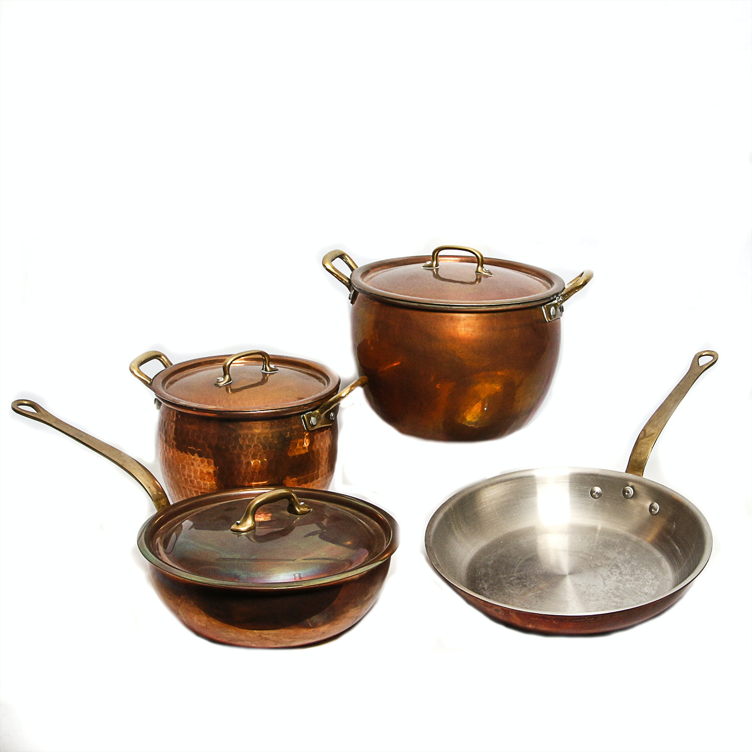 Copper Pots From Williams-Sonoma and Ruffoni Italy