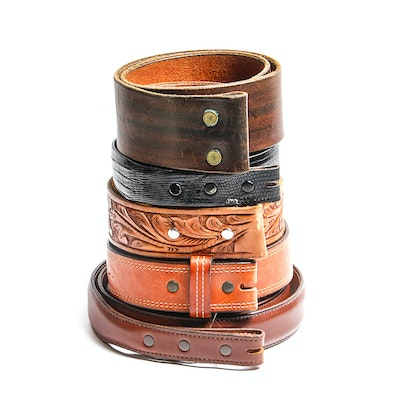 Collection of Leather Belts