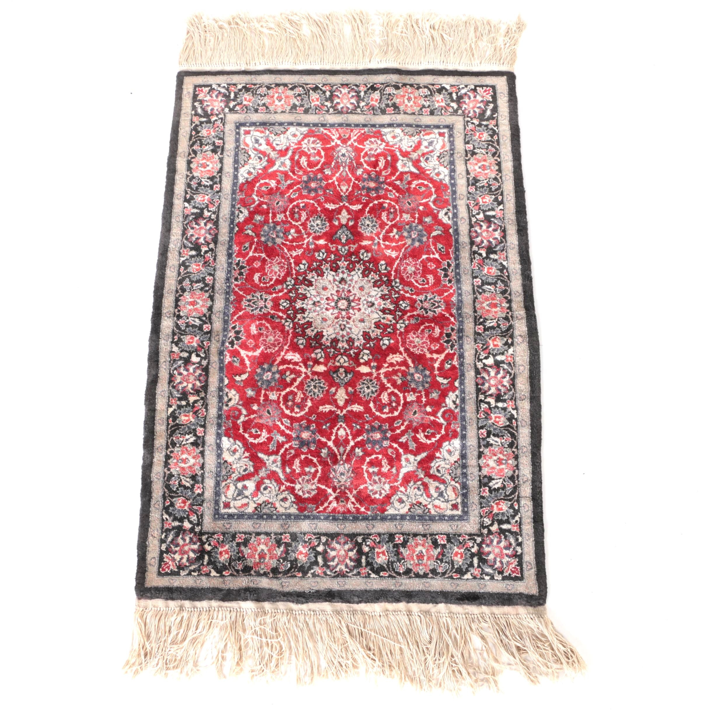 Hand-Knotted Tabriz Area Rug