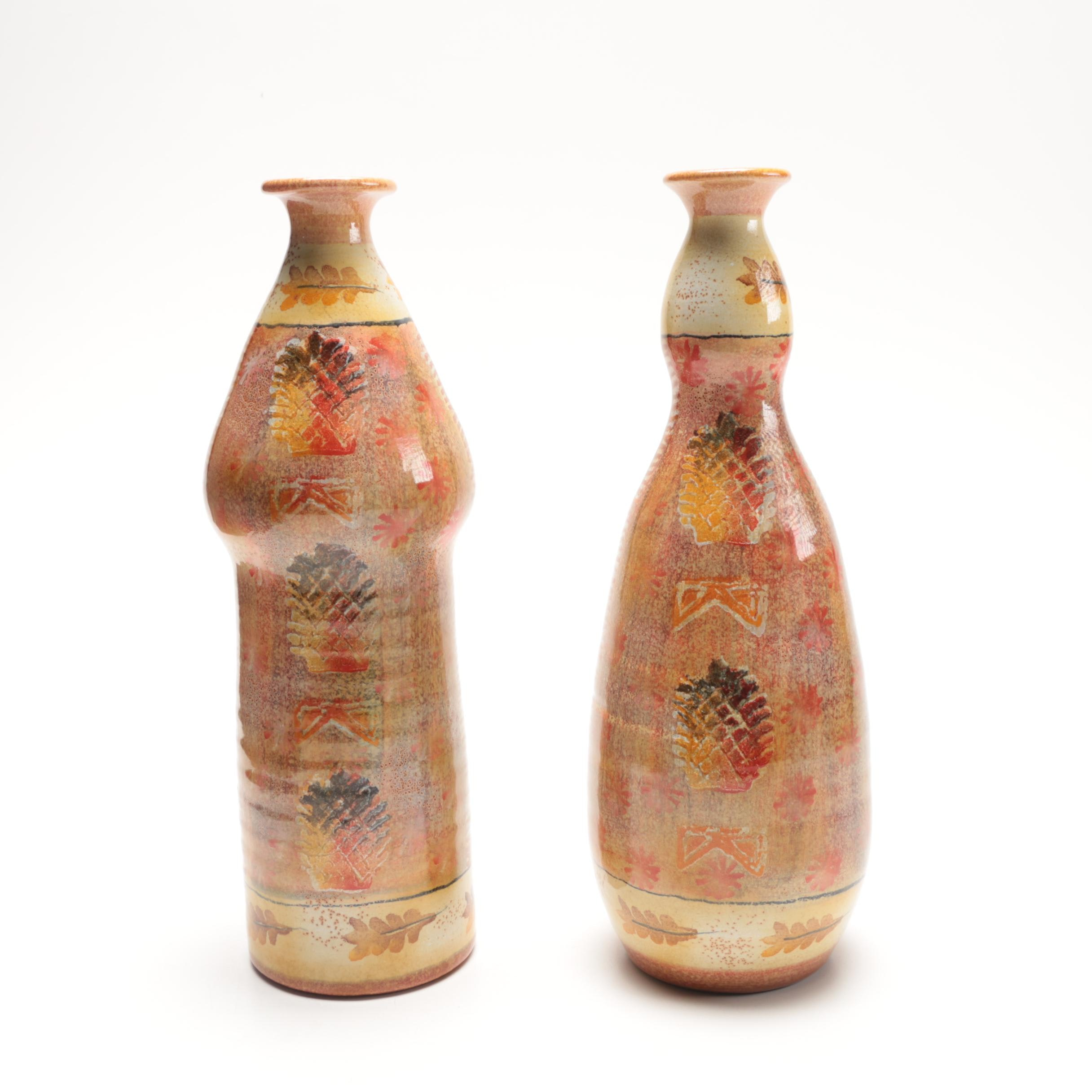 italica ars italian pottery vases ebth