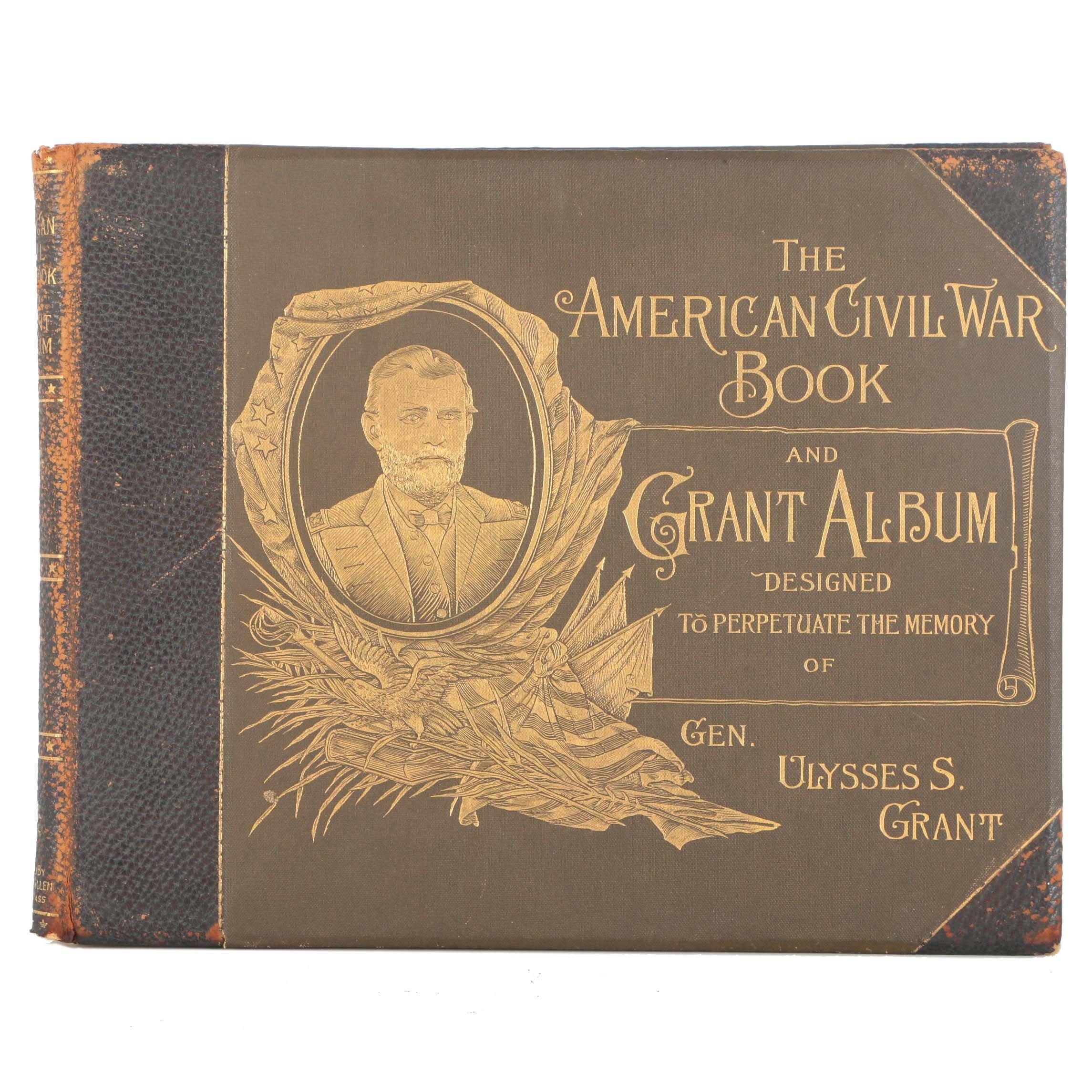 "1894 ""The American Civil War Book and Grant Album"" by William H. Allen"