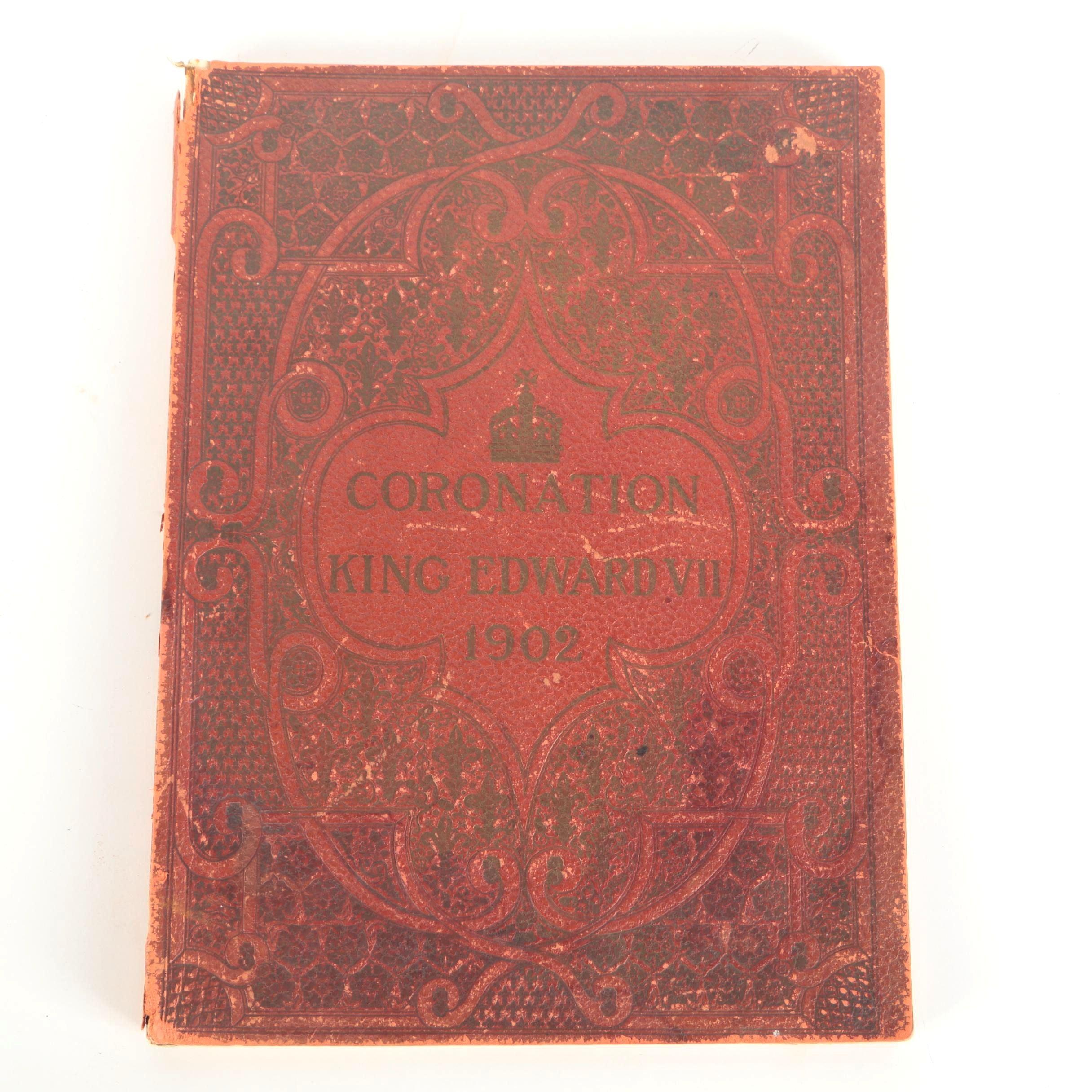 "Illustrated London News Coronation Record ""Coronation King Edward VII 1902"""
