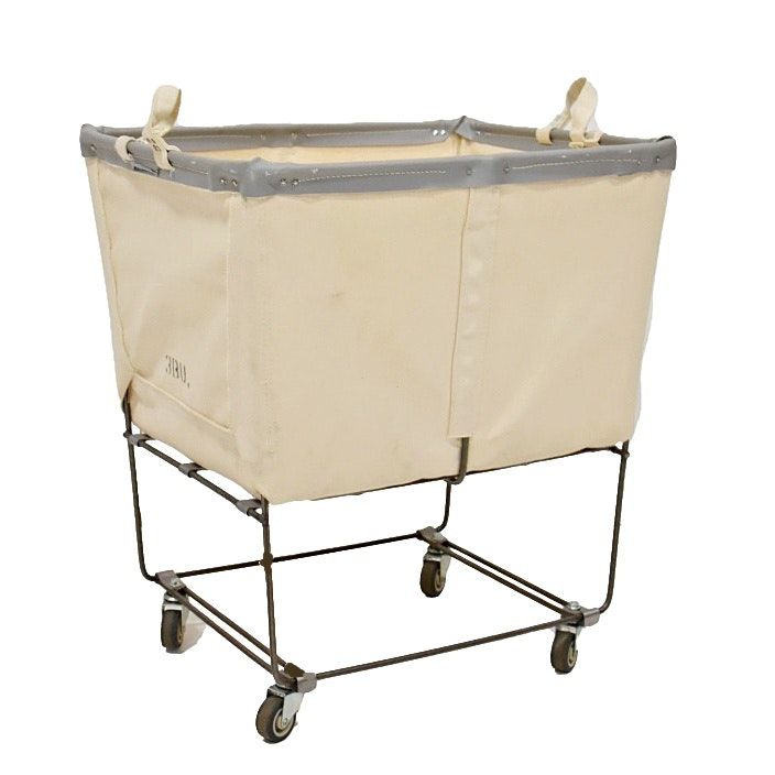 Schoolhouse Electric and Supply Co. Laundry Basket on Wheels