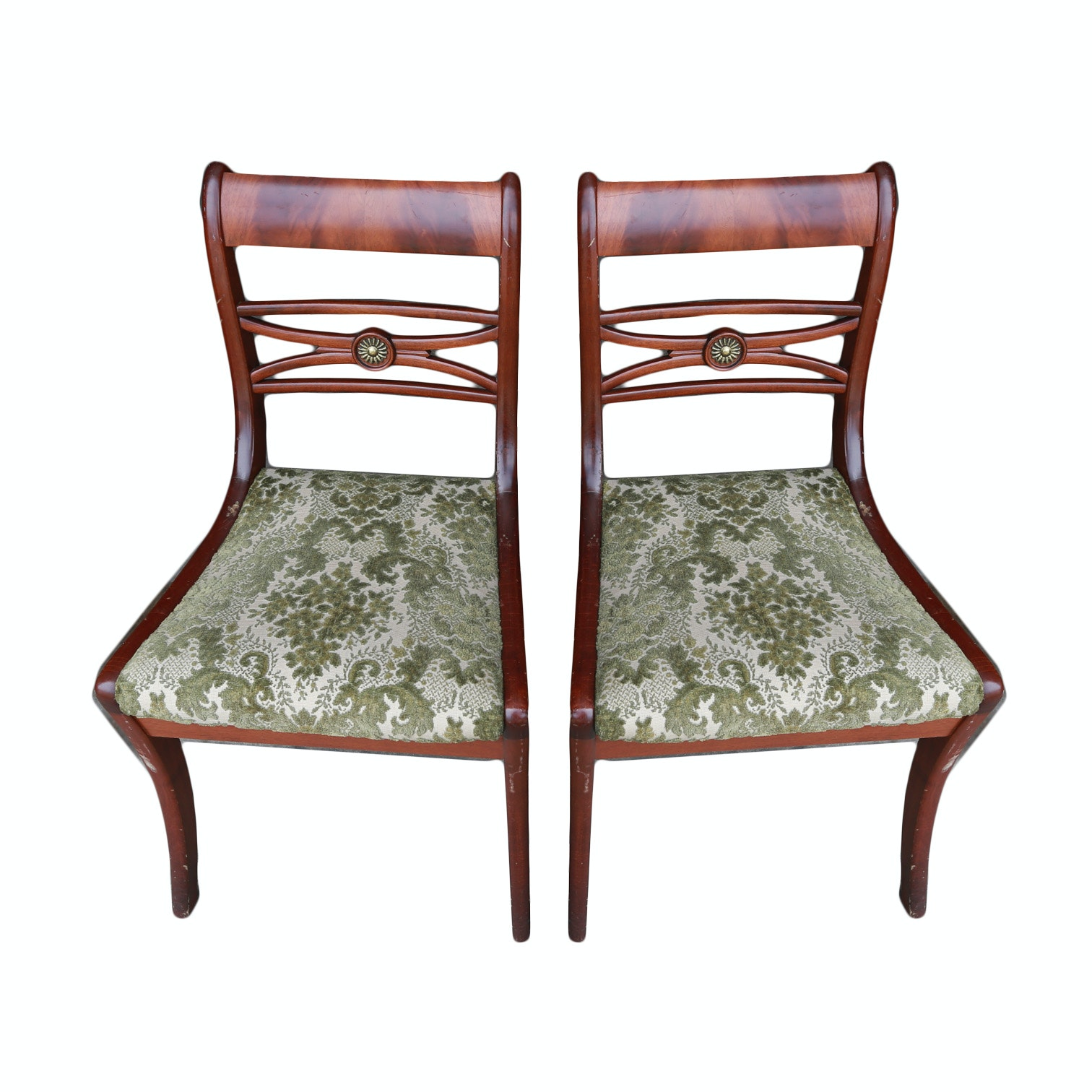 Duncan Phyfe Style Side Chairs