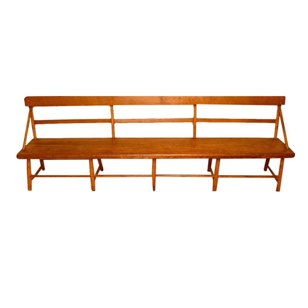 Antique Shaker Style Bench