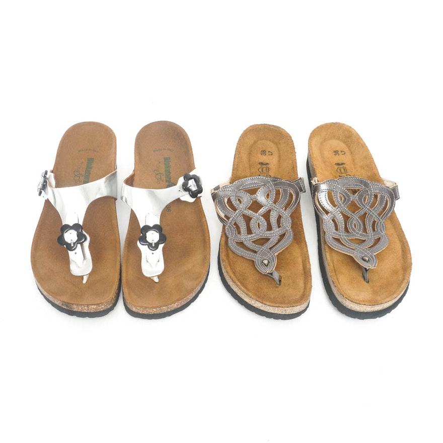 9be552c57337 Naot and BioNatura Women s Sandals   EBTH