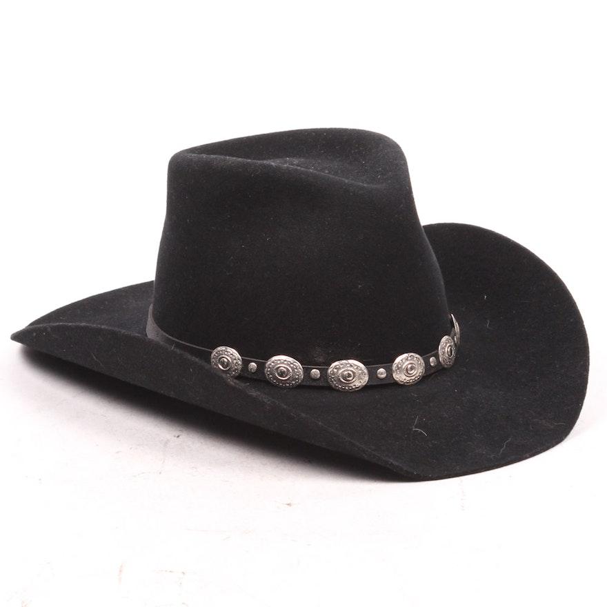 Pony Express Stetson Wool Cowboy Hat   EBTH e24c9e05ea6