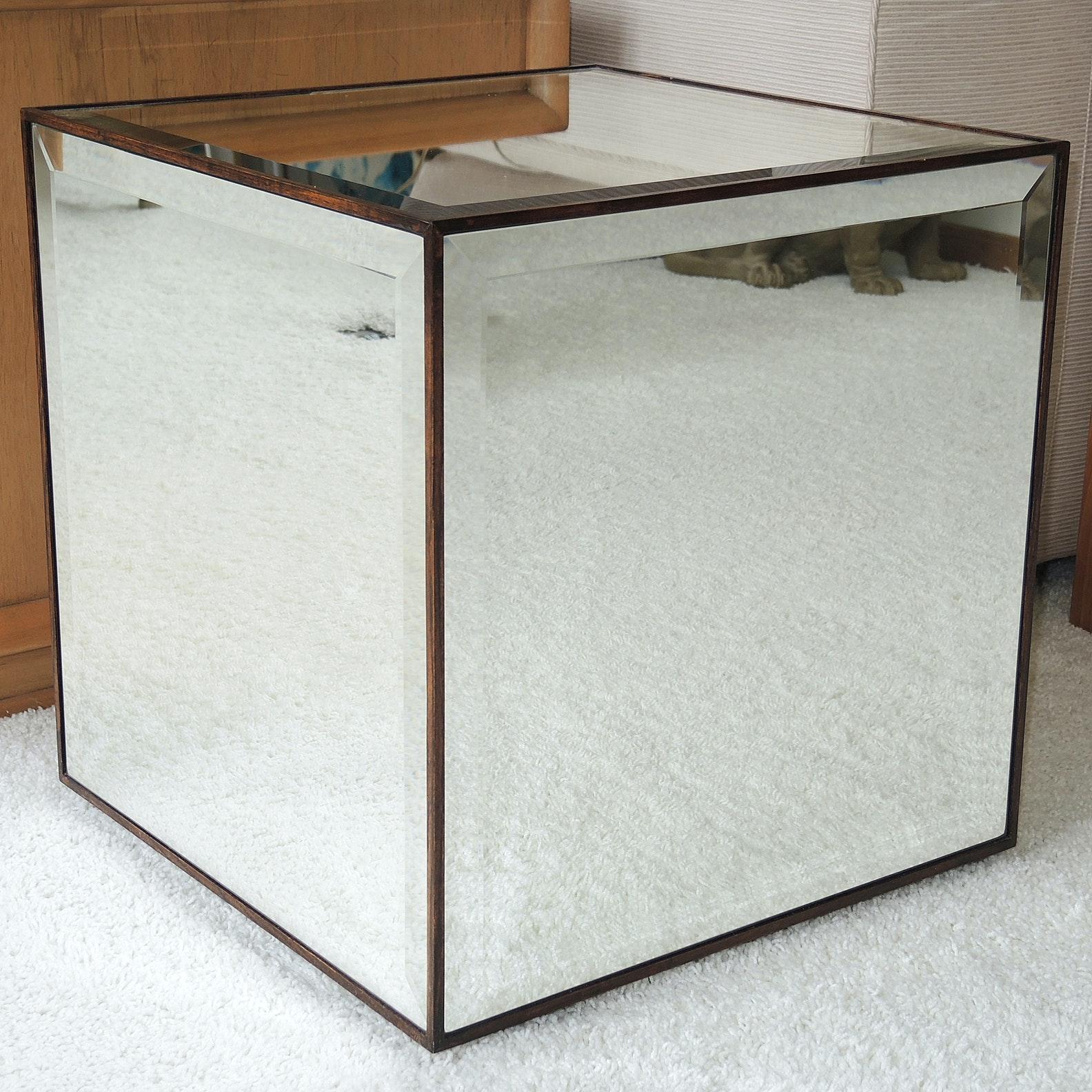 Glass Mirror Cube