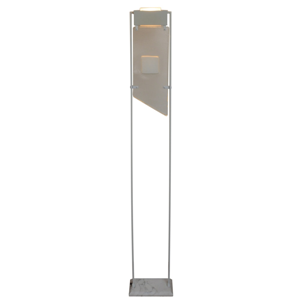 Modern Marble-Based Floor Lamp
