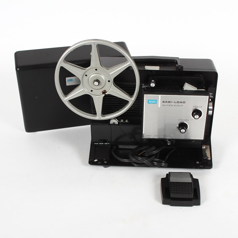 Sears Easi-Load Super Eight Film Projector