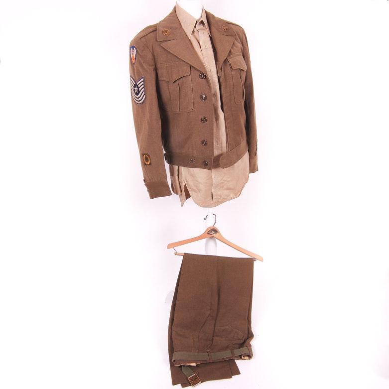 Vintage WWII Era Men's U.S. Army Air Force Uniform