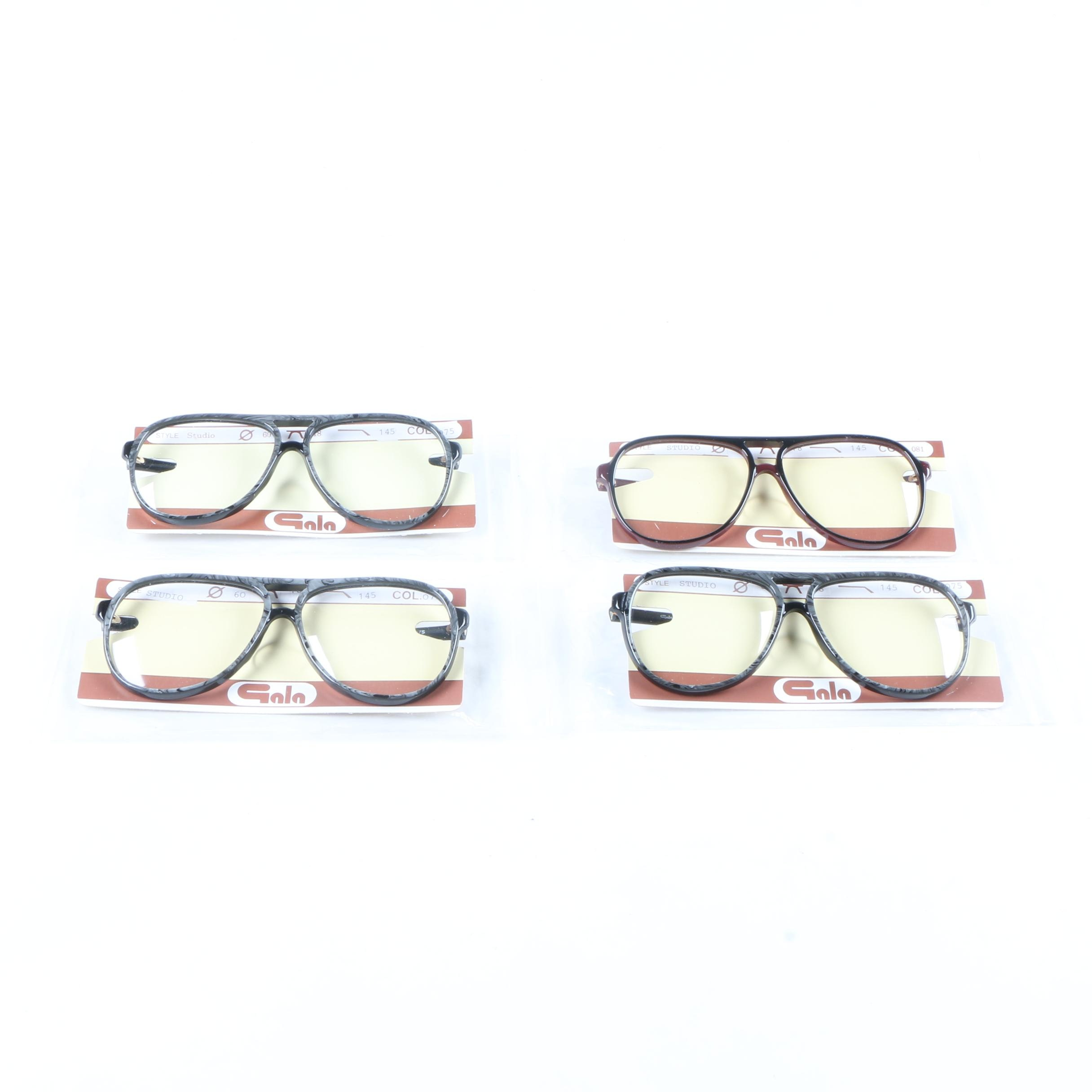 Vintage Aviator Style Glasses