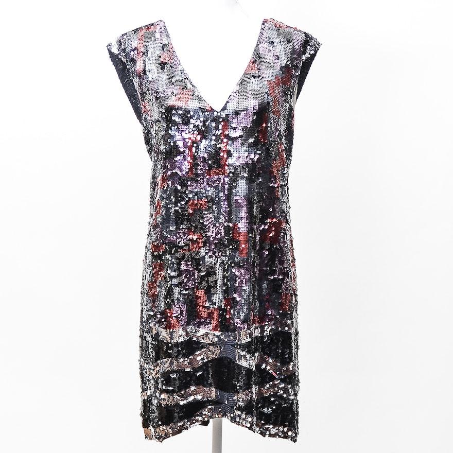 1c3172439652 BCBG Max Azria Sequin Dress : EBTH