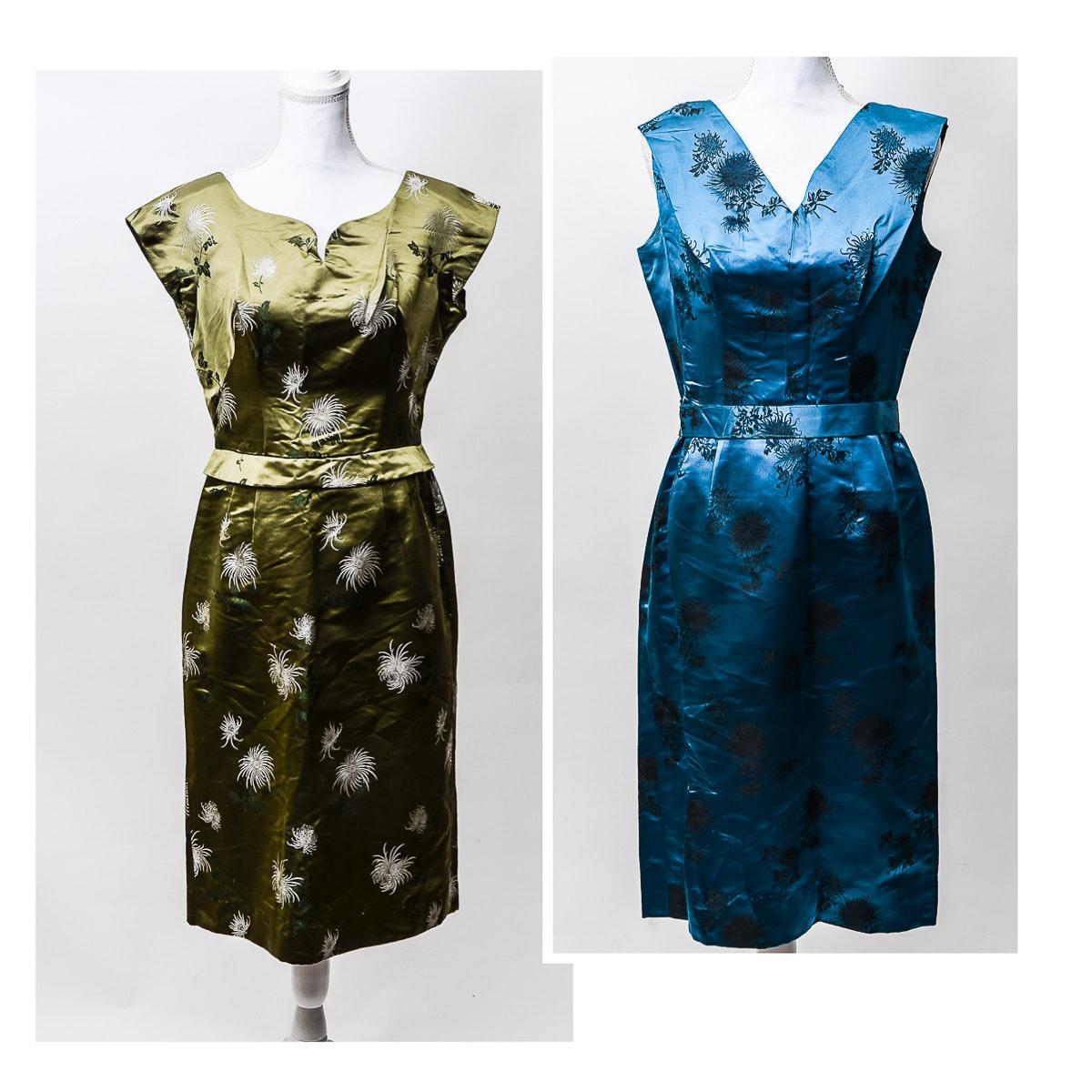 Vintage Fou Wah Chinese Dresses