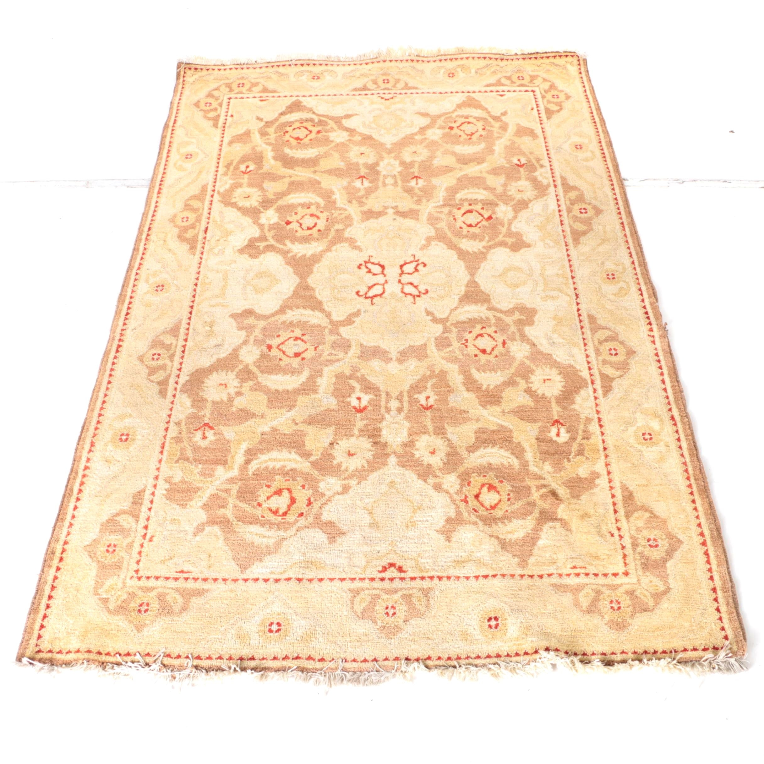Vintage Hand-Knotted Safavieh Wool Area Rug