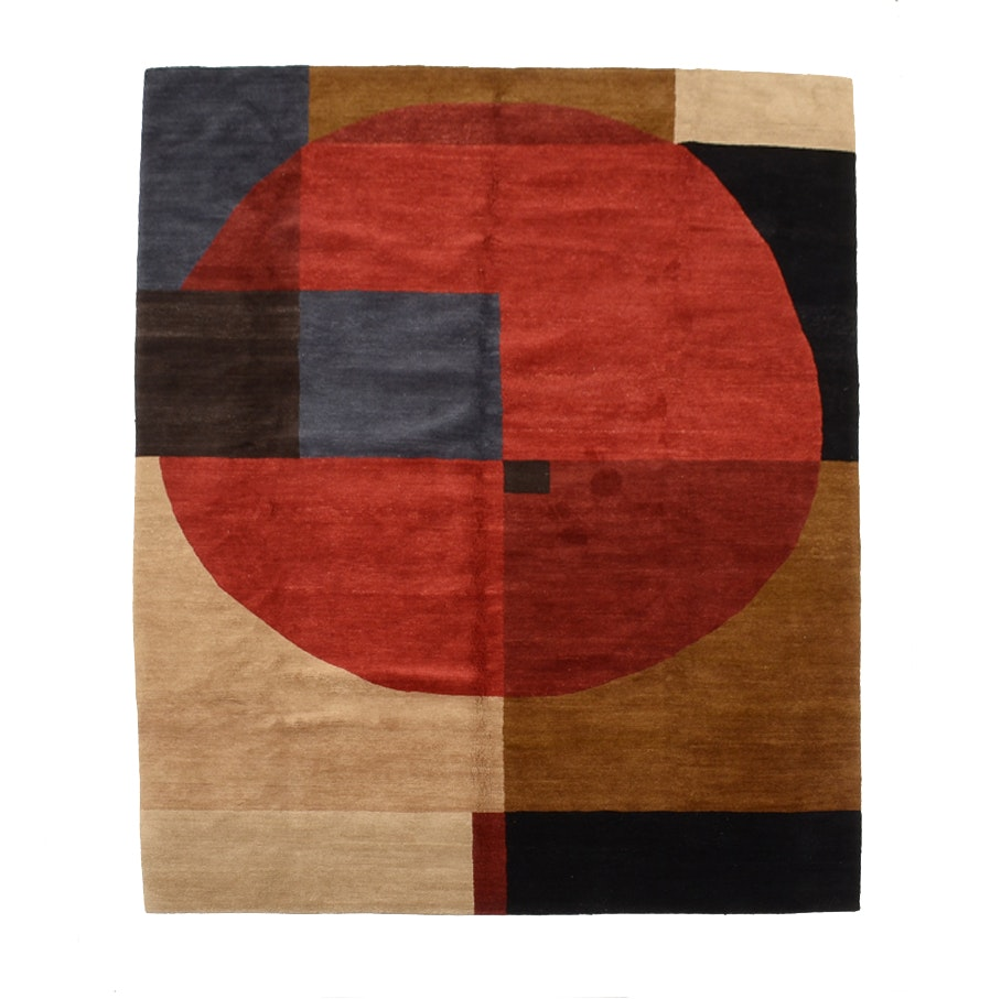 Tufenkian Tibetan Hand Knotted Wool Area Rug