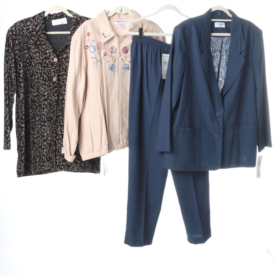 Womens Plus Size Clothing Including Elizabeth By Liz Claiborne Ebth