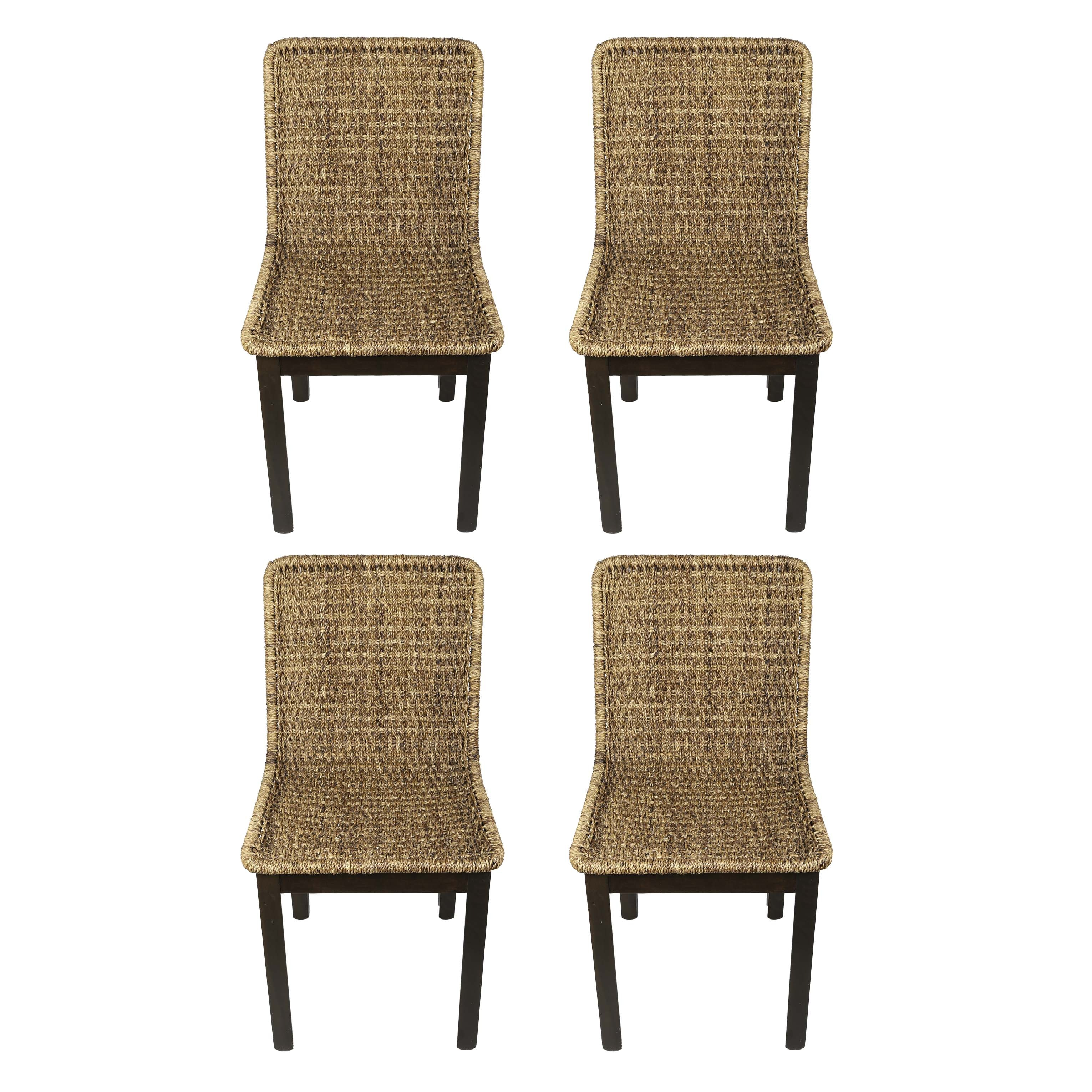 West Elm Woven Dining Chairs