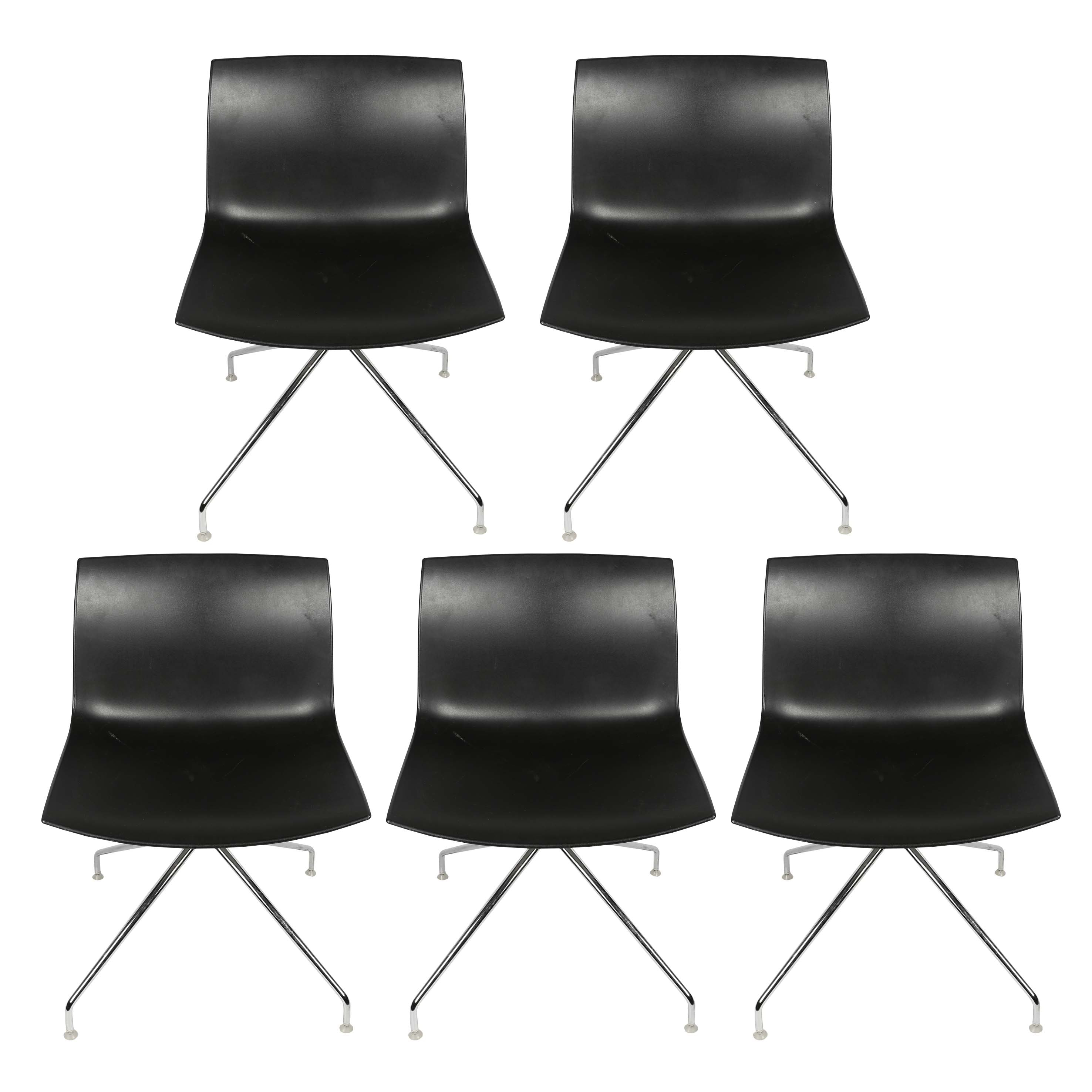 Italian Modern Lievore Molina Chairs for Arper