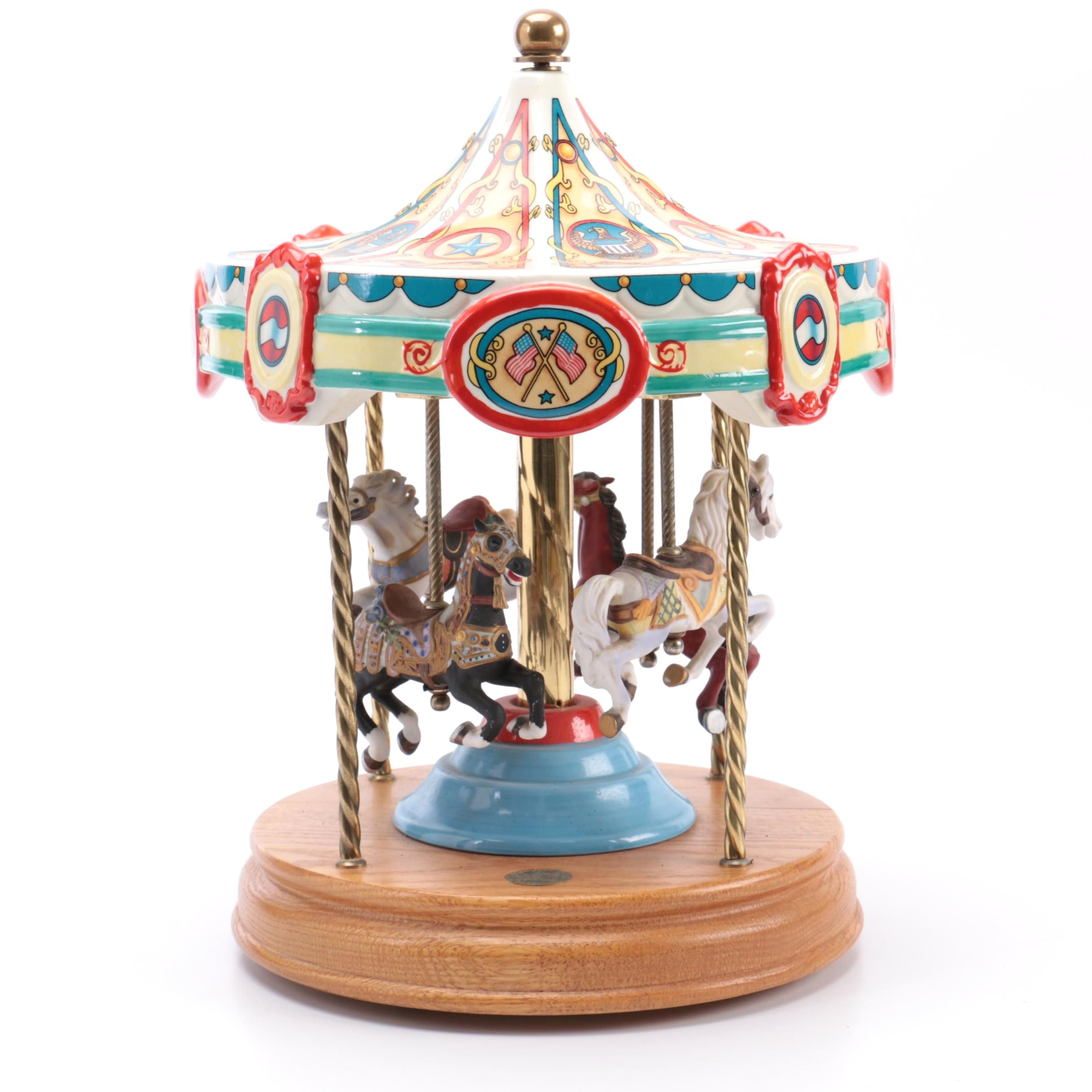 "Limited Edition Tobin Fraley ""The American Carousel"""