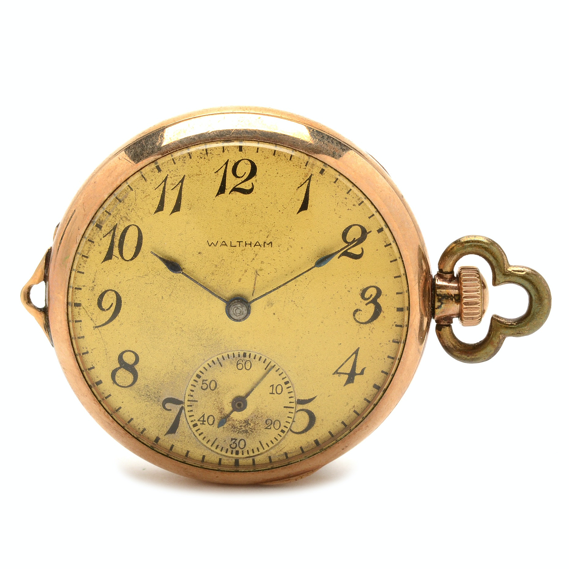 Antique Waltham Gold Filled Convertible Pocket Watch