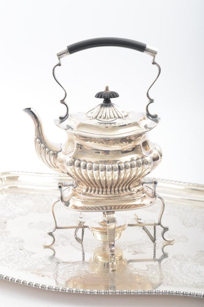 B & B Auto Sales >> Vintage Cheltenham & Company Silver Plate Tea and Coffee ...