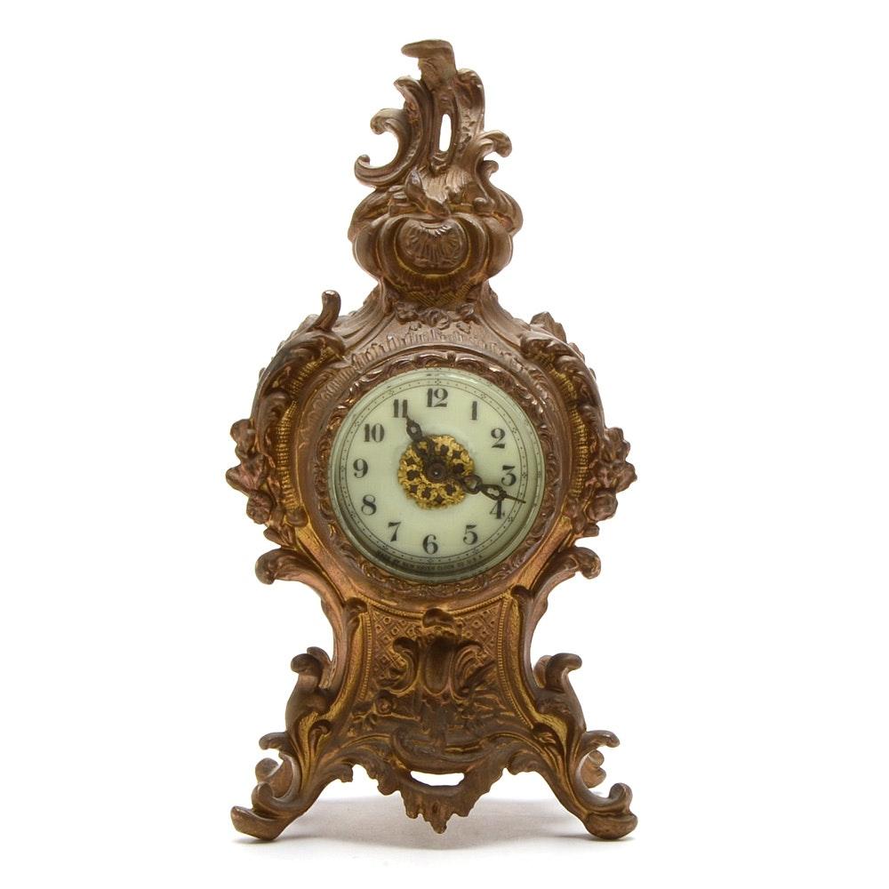 New Haven Art Nouveau Mantle Clock