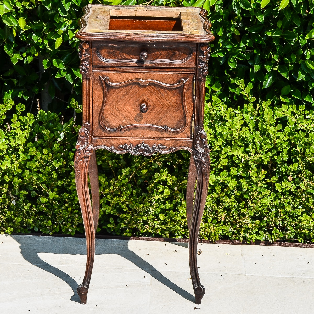 Late 19th to Early 20th Century Louis XV Style Nightstand