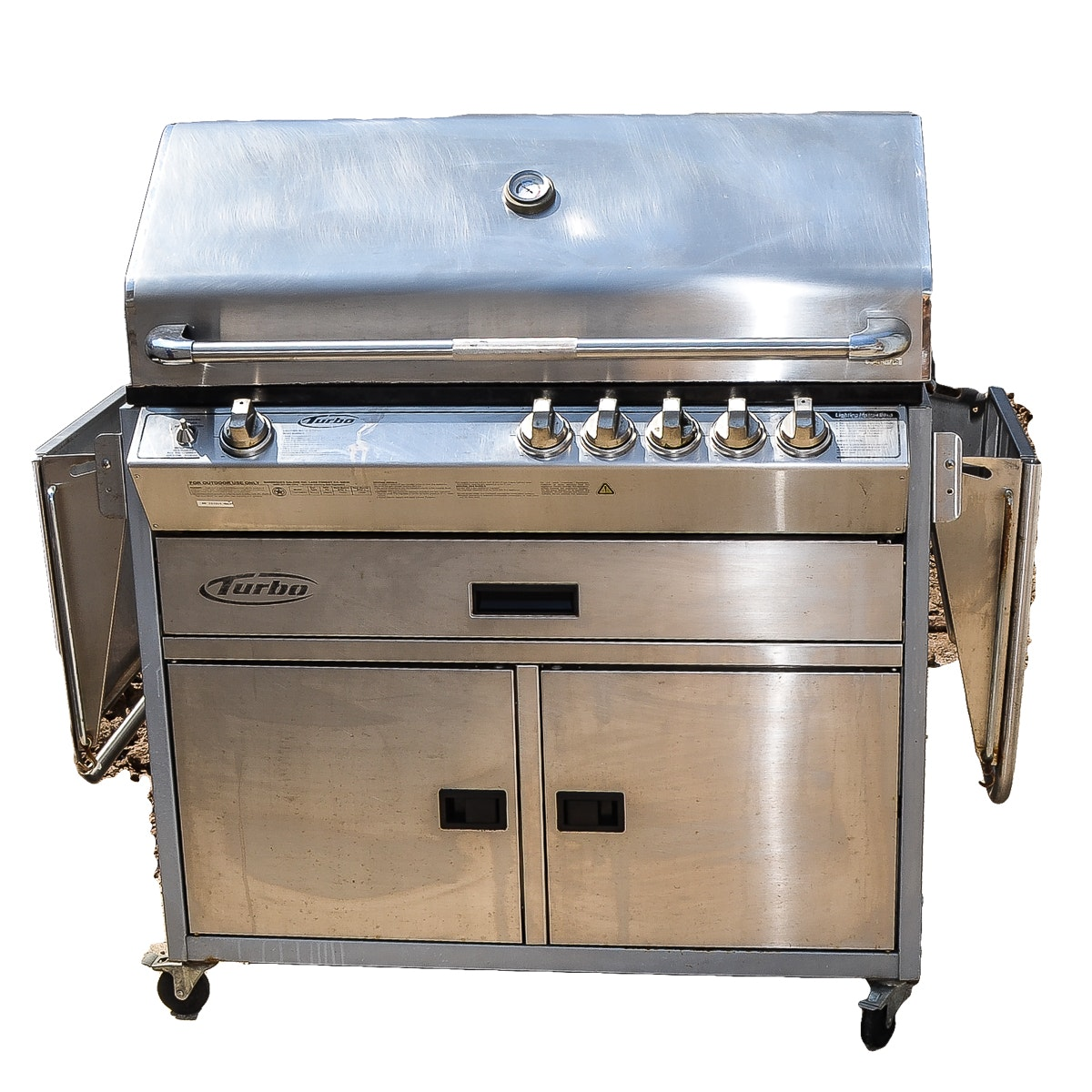 Turbo Natural Gas Barbecue Grill
