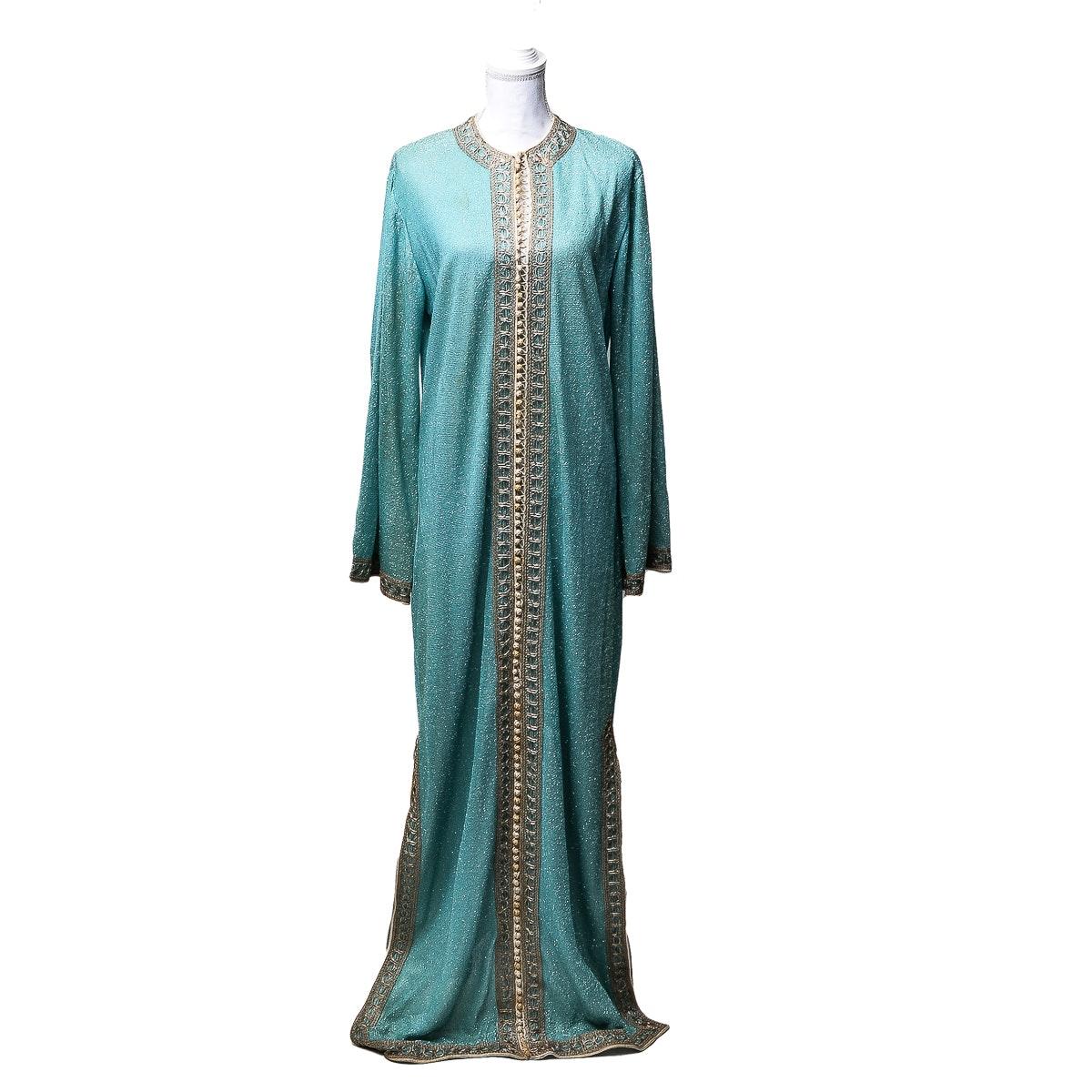 1960's Floor Length Gown