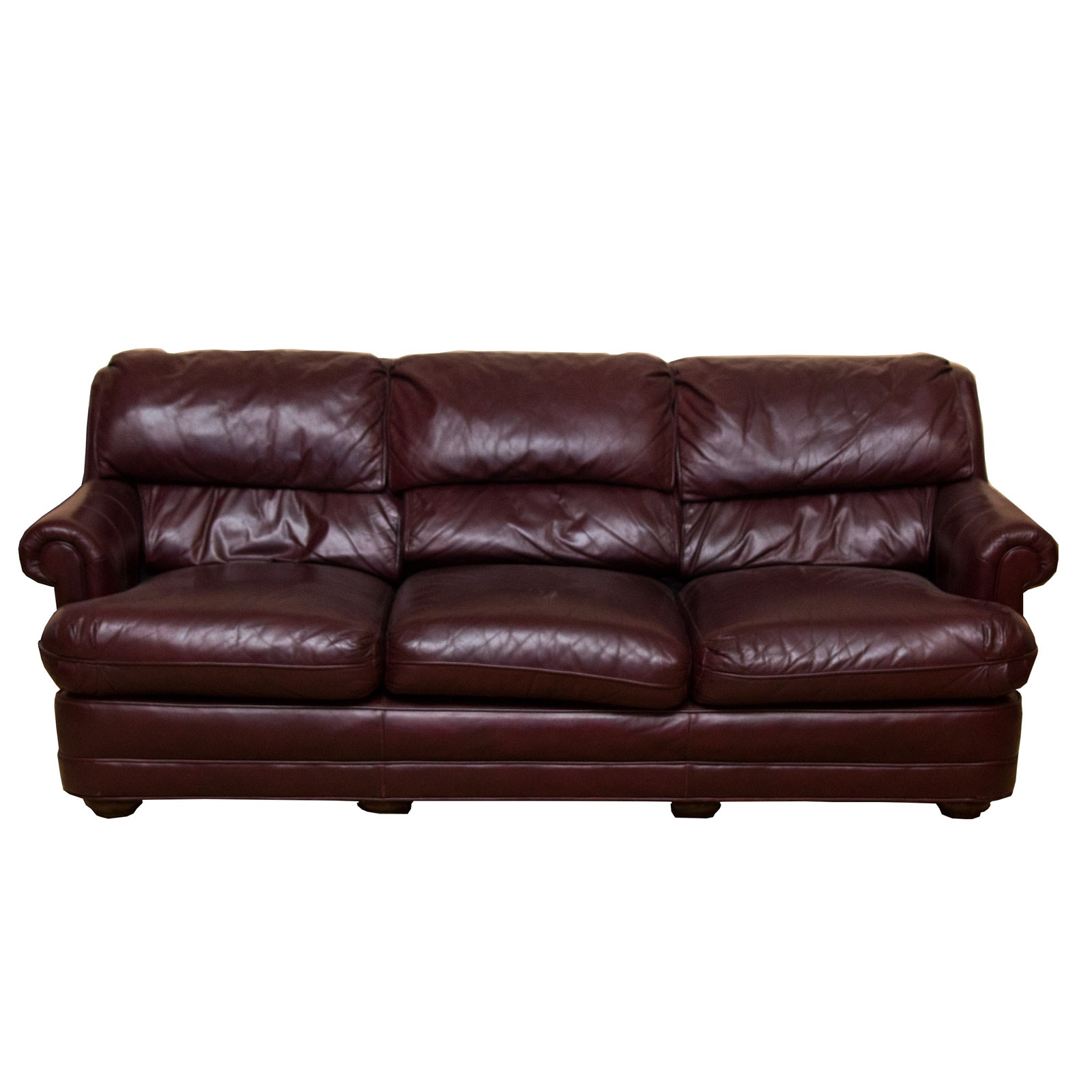 Distinction Furniture Company Leather Sofa ...