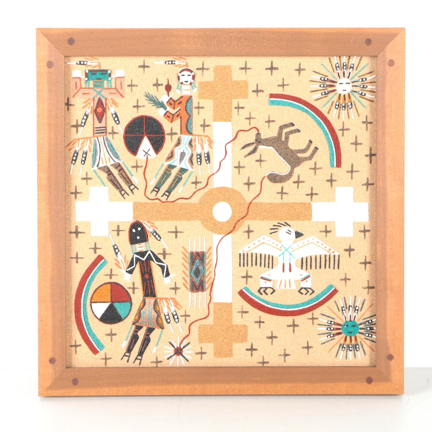 navajo sand painting value