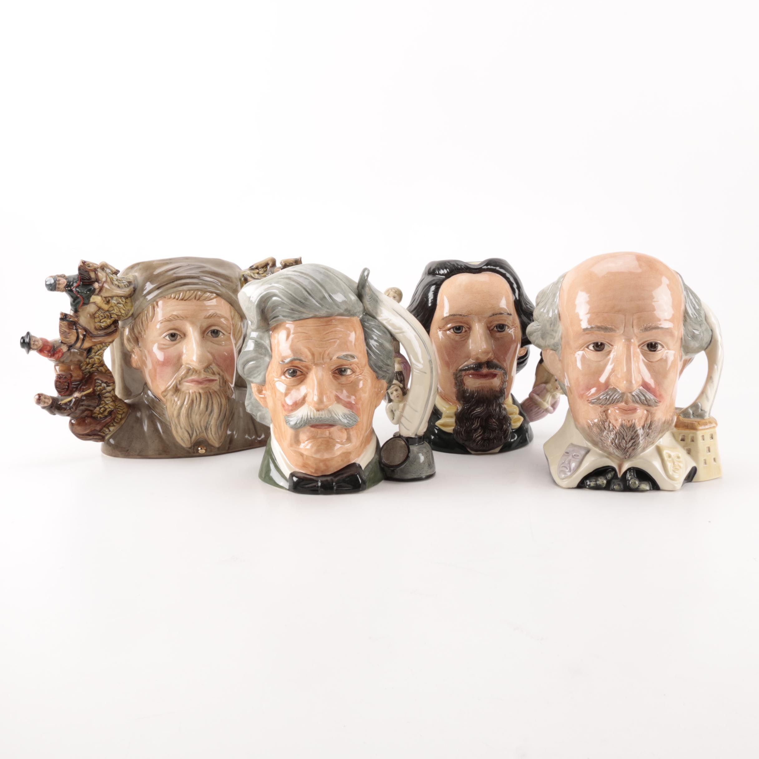 Royal Doulton Toby Jugs of Writers