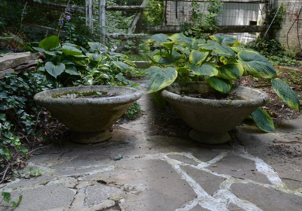 Concrete Garden Planters