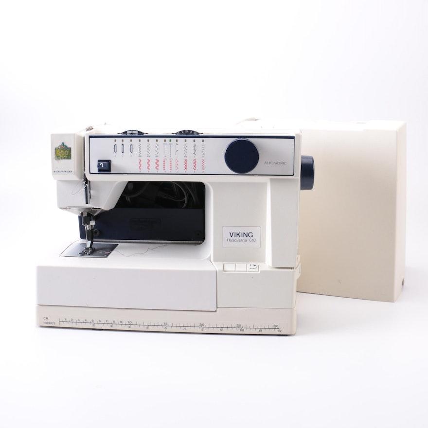 Viking Husqvarna 40 Sewing Machine EBTH New Husqvarna 610 Sewing Machine