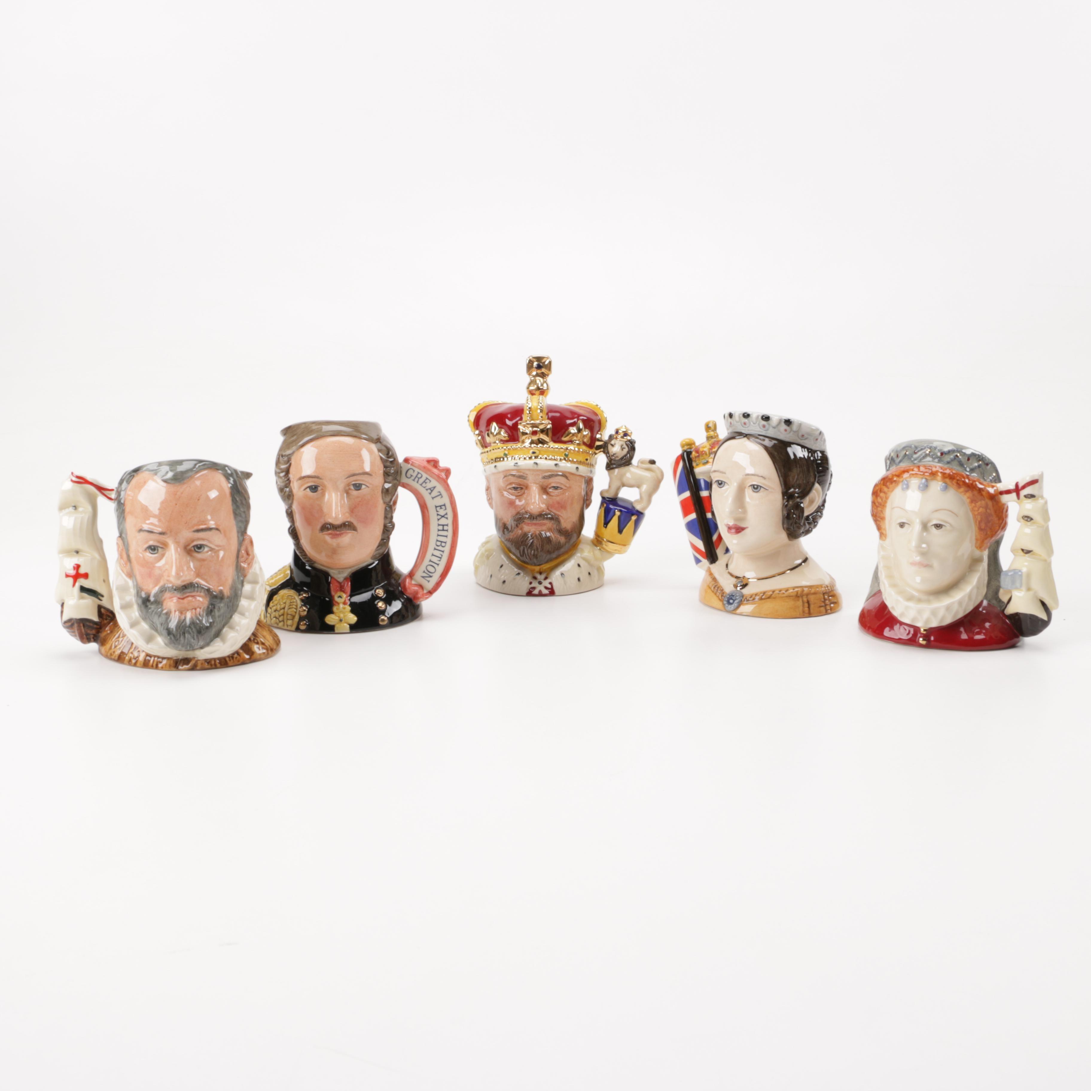 Royal Doulton Royality Toby Jugs