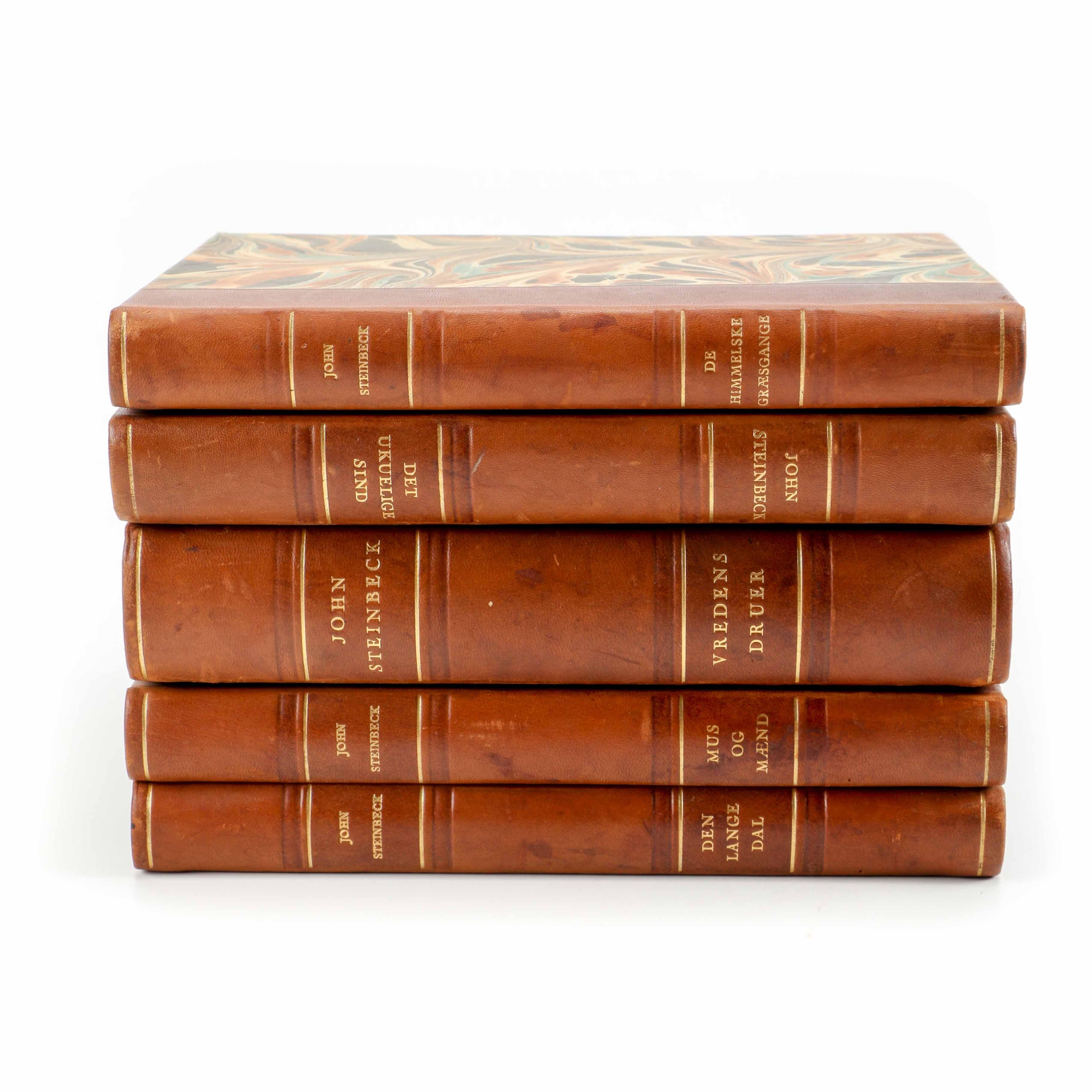 John Steinbeck Novels in Danish