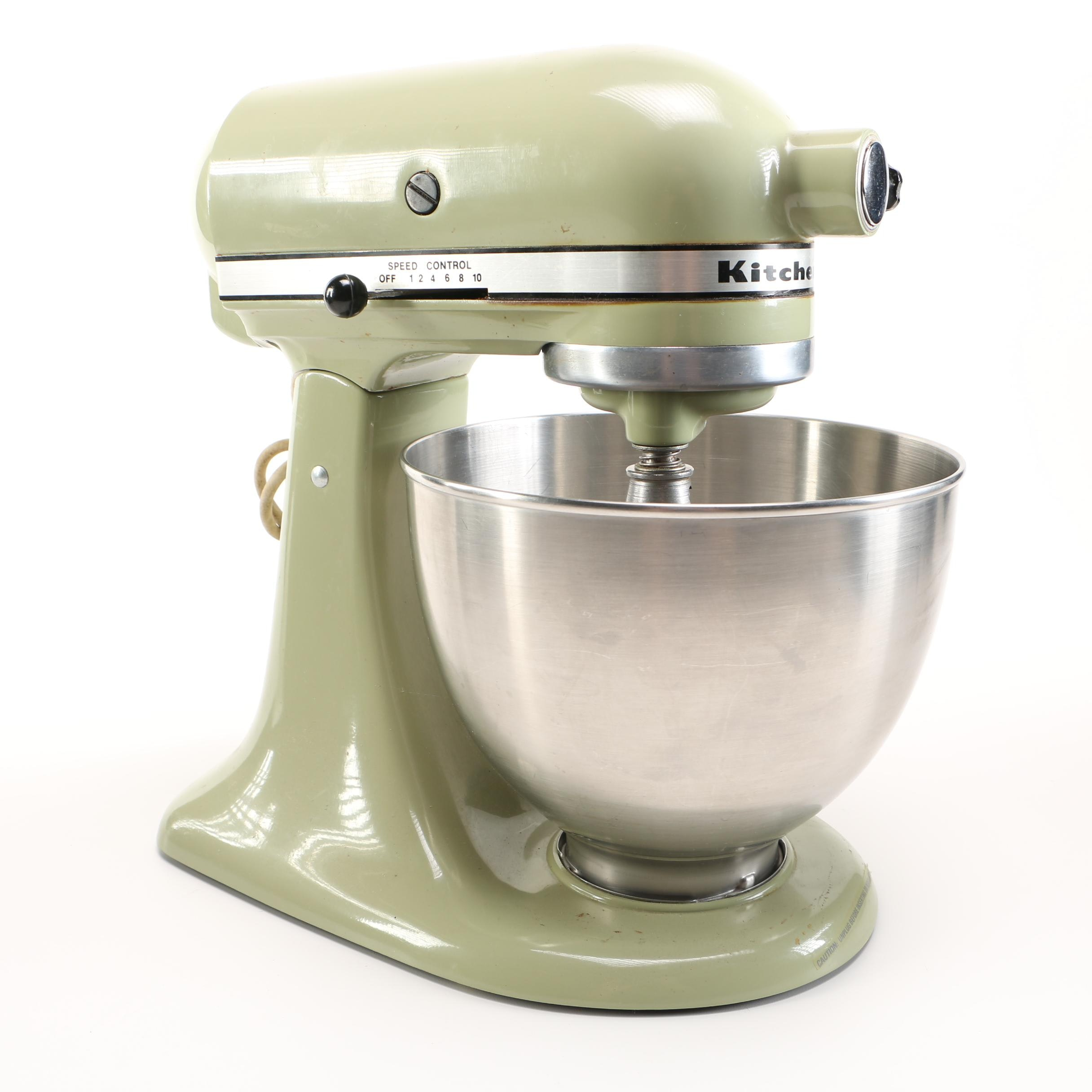 Merveilleux Sage Green KitchenAid Mixer ...