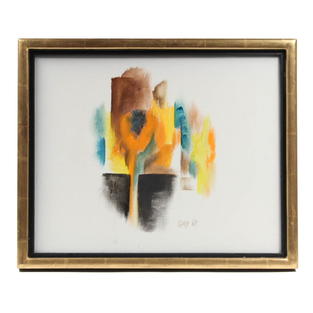 Gay Badenoch Original Acrylic Abstract Painting