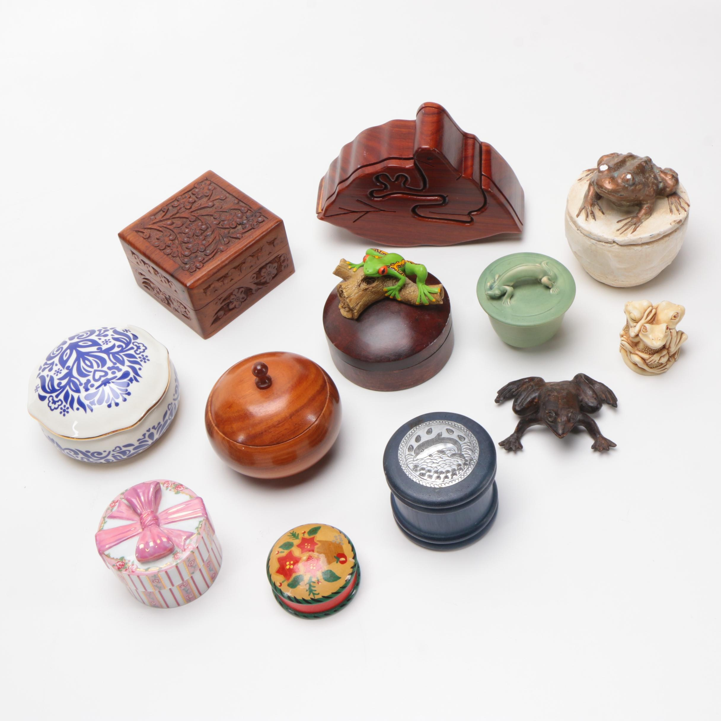 Trinket Boxes and Decor