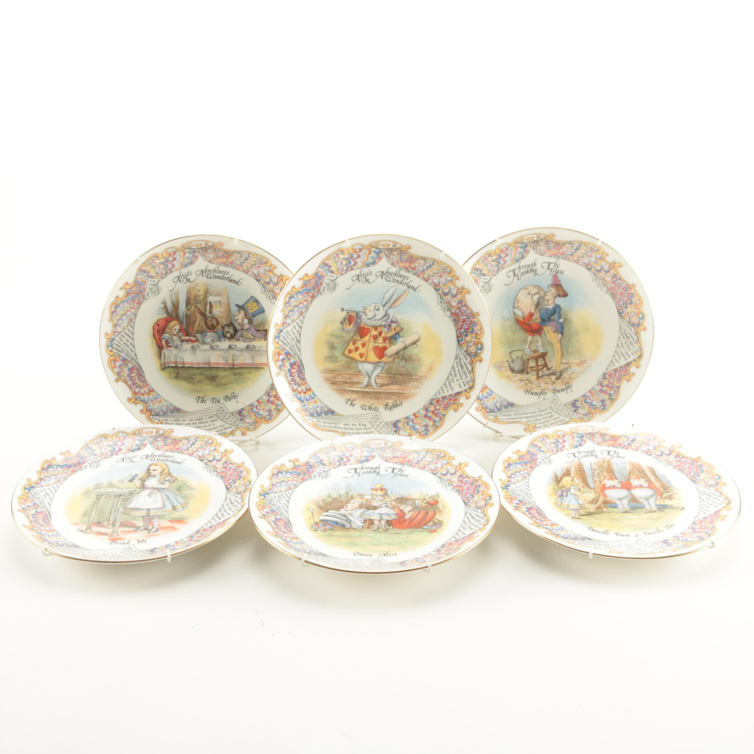 Collectible Alice In Wonderland Plates