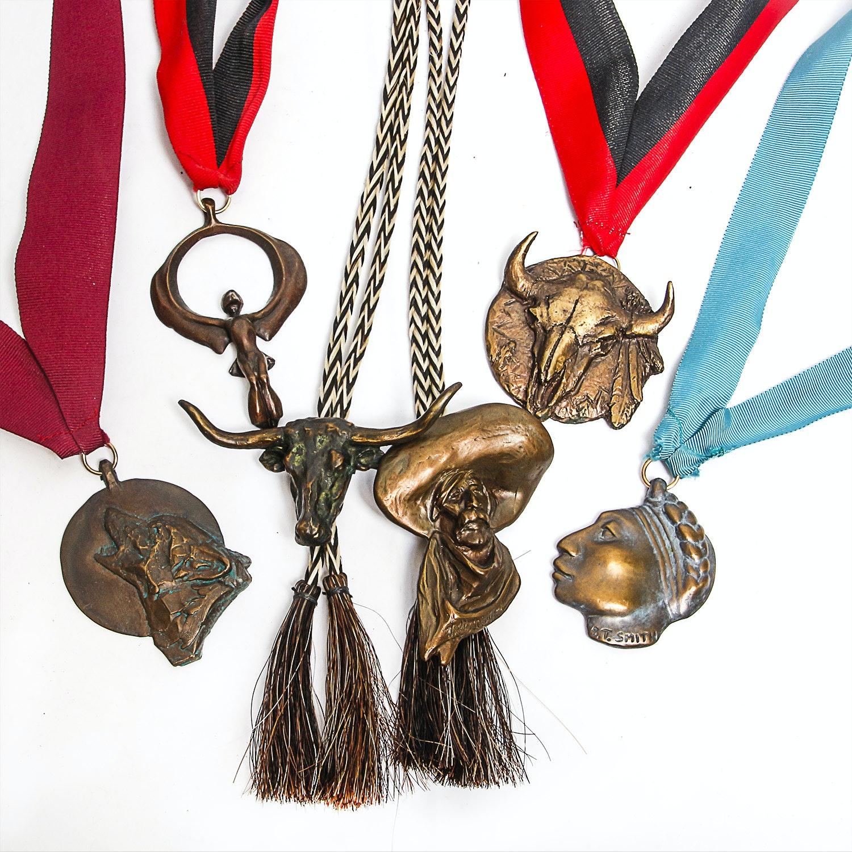 National Academy of Western Art Bronze Award Medals